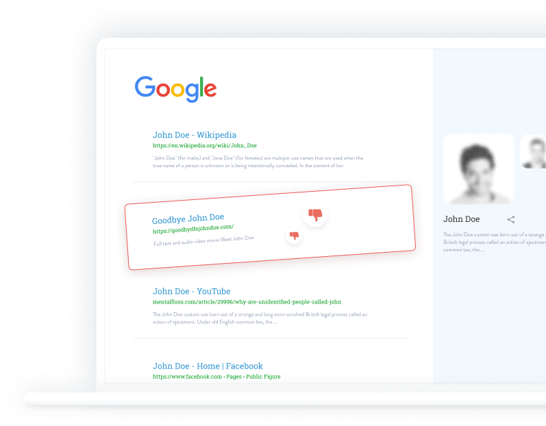 remover de google